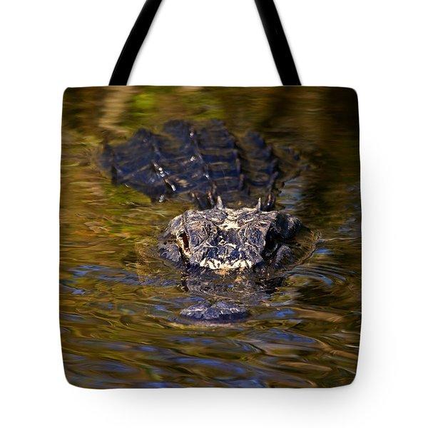 Dark Water Predator Tote Bag