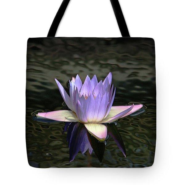 Dark Water Shimmering Tote Bag