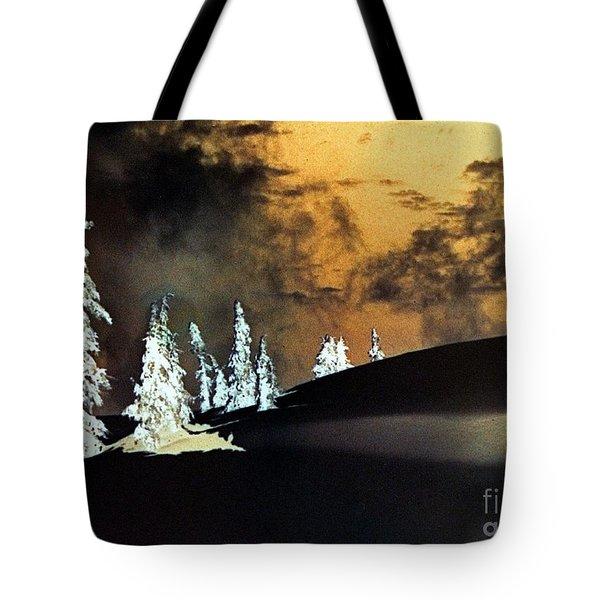 Dark Winter Tote Bag