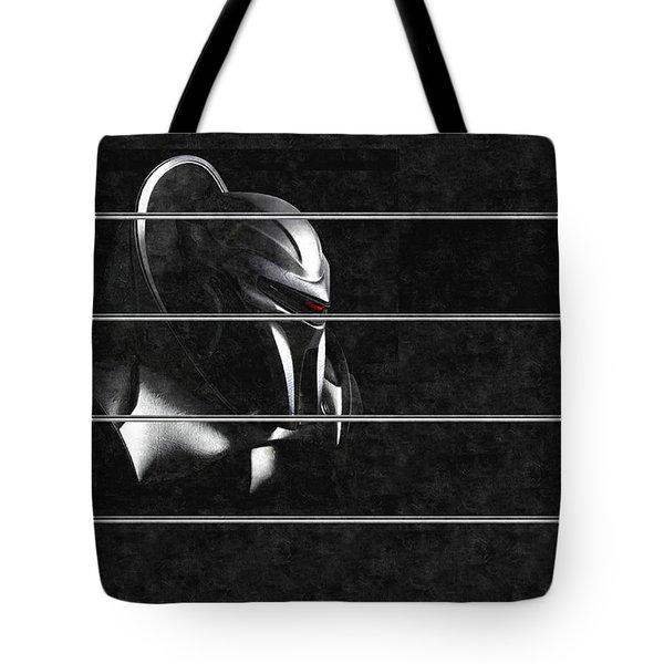 Dark Zylon Tote Bag by Mario Carini
