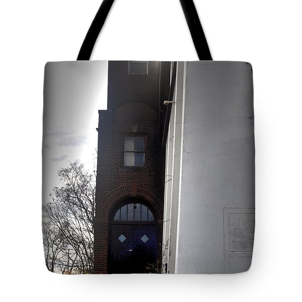 Darkened Door Tote Bag