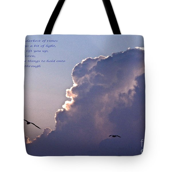 Darkest Of Times Tote Bag