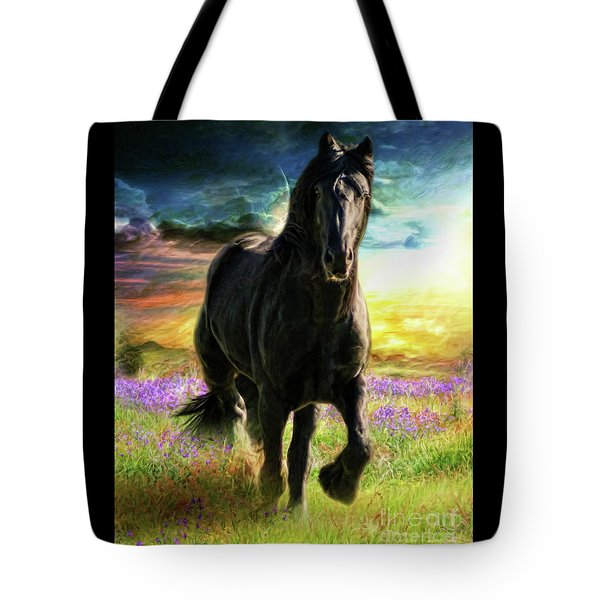 Darkness Descending Tote Bag