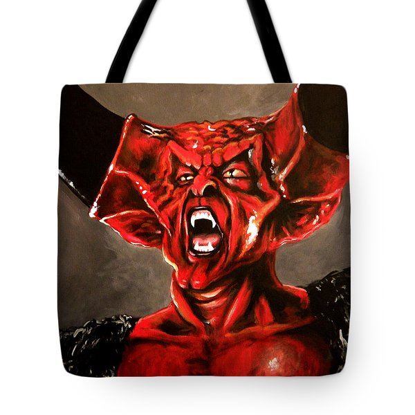 Darkness Tote Bag by Tom Carlton