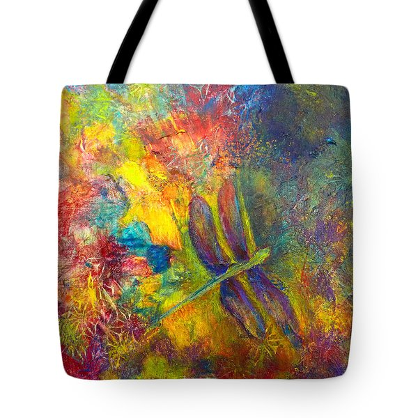 Darling Dragonfly Tote Bag