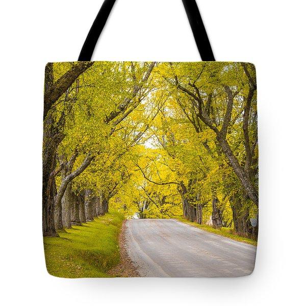 Darling Hill Autumn Tote Bag