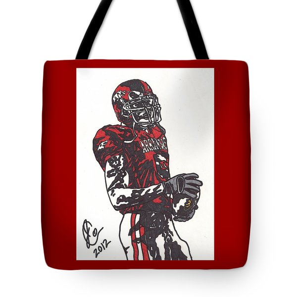 Darren Mcfadden 3 Tote Bag by Jeremiah Colley