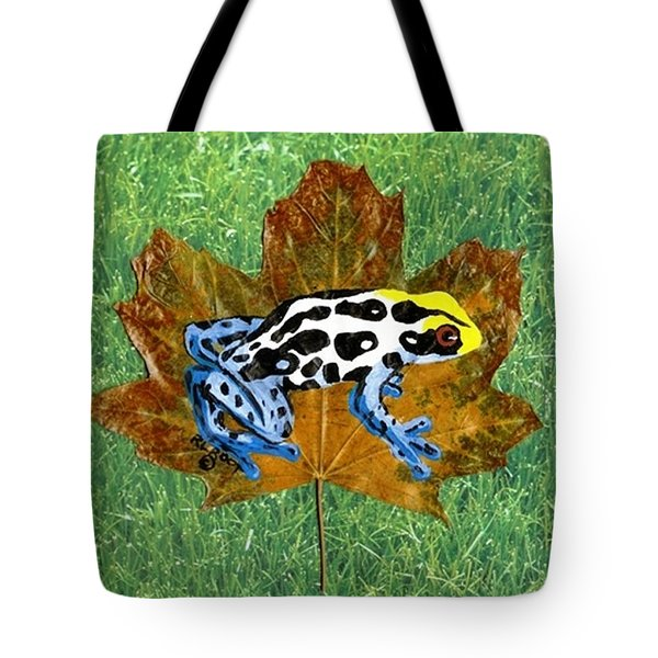 Dart Poison Frog Tote Bag by Ralph Root