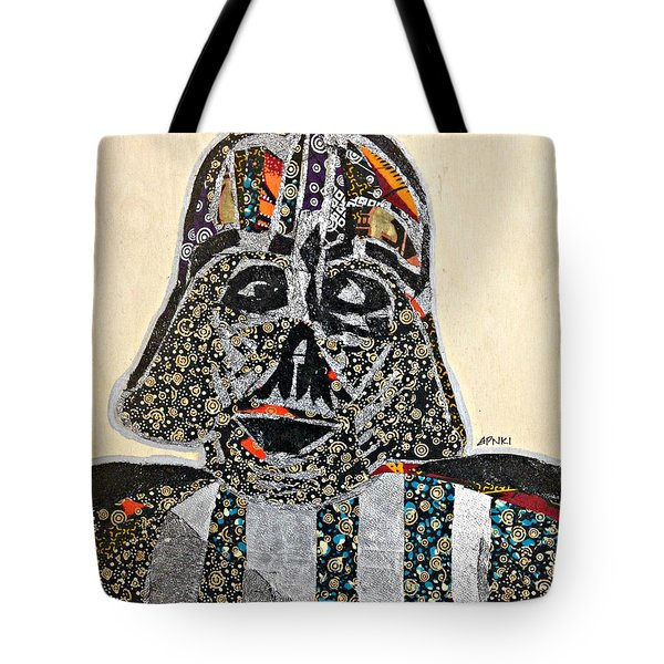 Darth Vader Star Wars Afrofuturist Collection Tote Bag by Apanaki Temitayo M