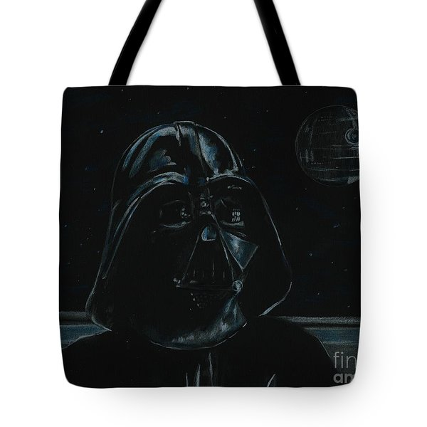Darth Vader Study Tote Bag by Meagan  Visser