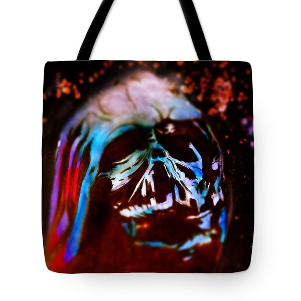 Darth Vader's Melted Helmet Tote Bag