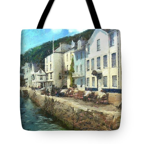 Bayards Cove Dartmouth Devon  Tote Bag