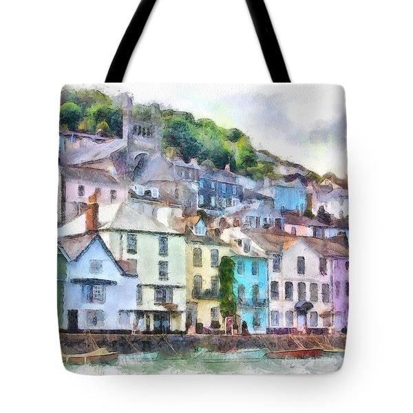 Dartmouth Devon England Tote Bag by Charmaine Zoe