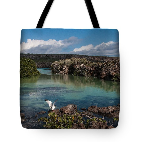 Darwin Bay     Genovesa Island      Galapagos Islands Tote Bag