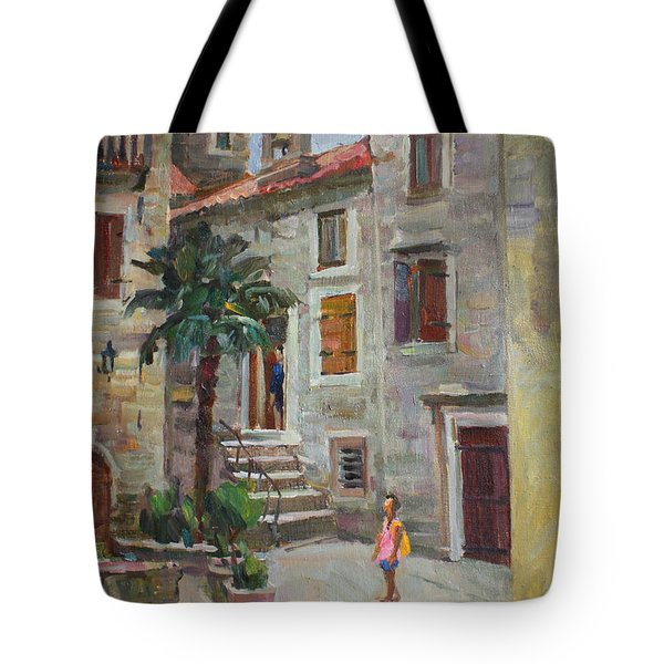 Dasha In The Old Town Tote Bag