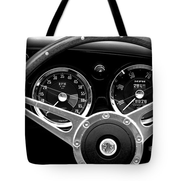 Tote Bag featuring the photograph Dashboard by Stephen Mitchell