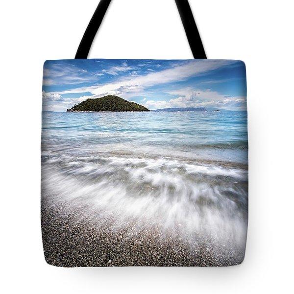Dasia Island Tote Bag by Evgeni Dinev