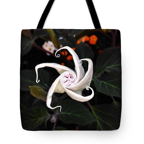 Datura Bud  Tote Bag