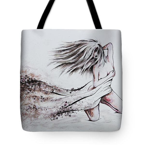 Daughter Of Eve Tote Bag by Rachel Christine Nowicki