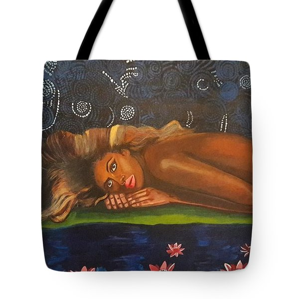 Daughter Of The Cosmos Tote Bag