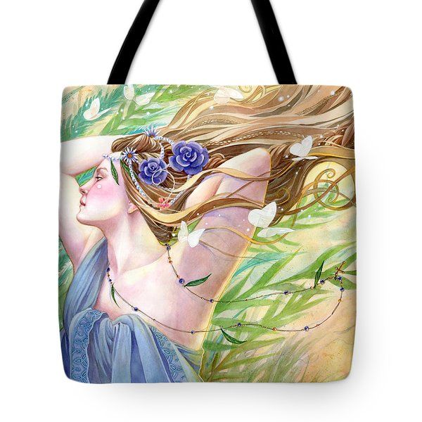 Daughter Of The King Tote Bag by Sara Burrier