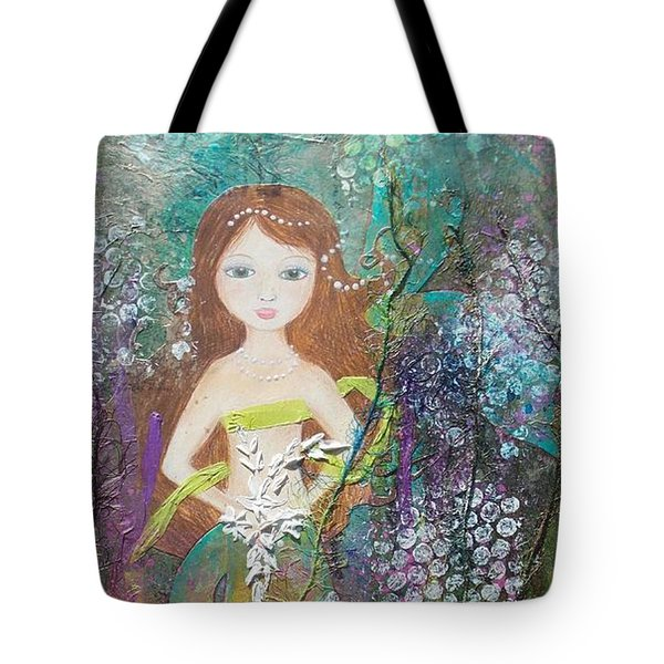 Daughter Of The Sea Tote Bag