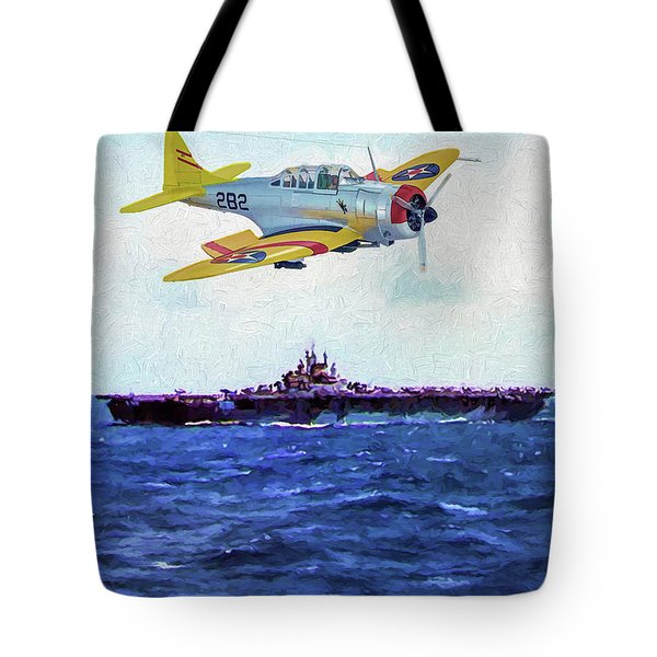 Dauntless And The Lady Oil Tote Bag