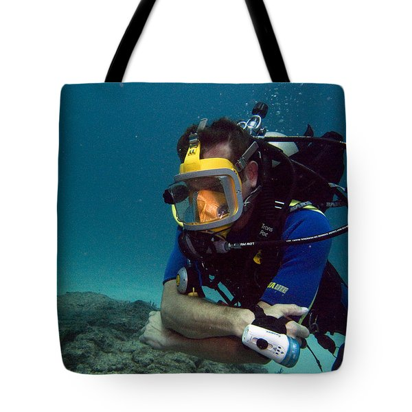 Dave In The Mask Tote Bag