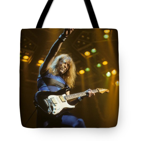 Dave Murray Of Iron Maiden Tote Bag