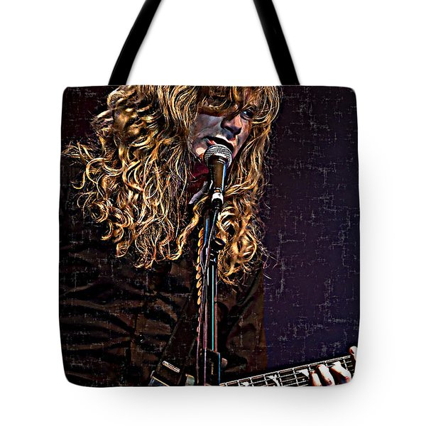 Dave Mustaine 1 Tote Bag
