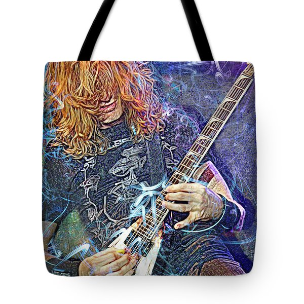 Dave Mustaine, Megadeth Tote Bag