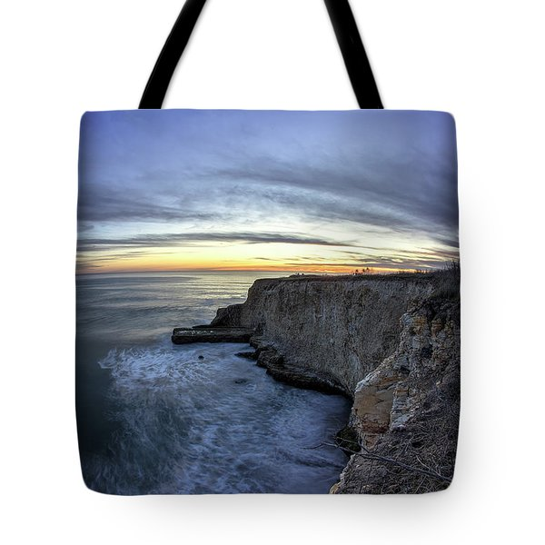 Davenport Bluffs At Sunset Tote Bag
