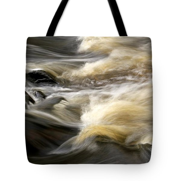 Tote Bag featuring the photograph Dave's Falls #7431 by Mark J Seefeldt
