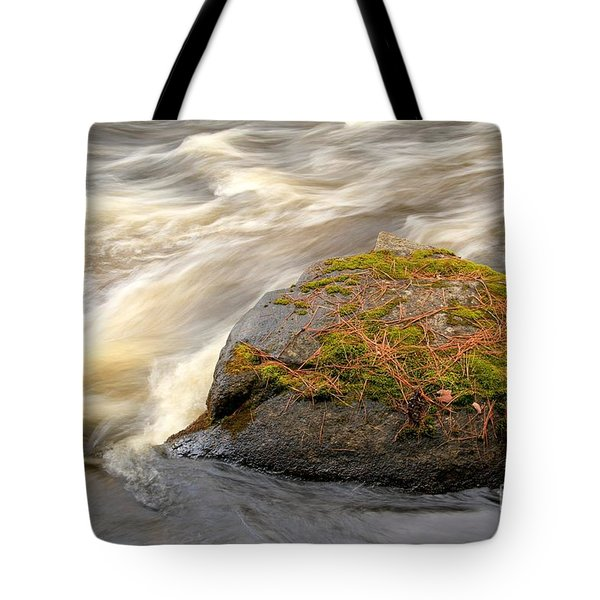Tote Bag featuring the photograph Dave's Falls #7442 by Mark J Seefeldt