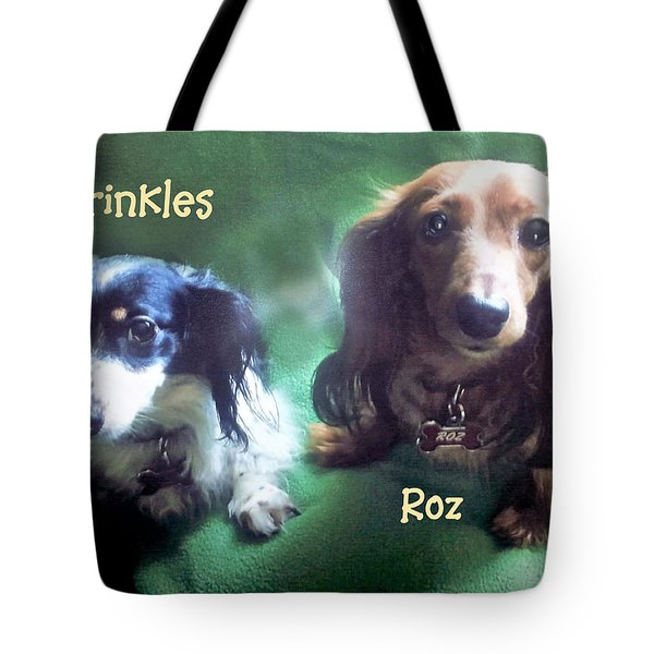 Dave's Roz And Sprinkles Tote Bag