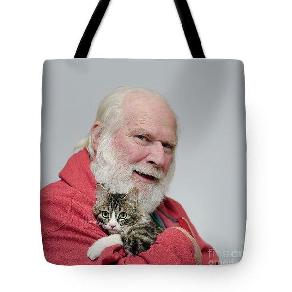 David And Ms Alexia  Square Tote Bag