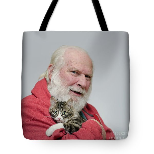 Tote Bag featuring the photograph David And Ms Alexia  Square by Irina ArchAngelSkaya