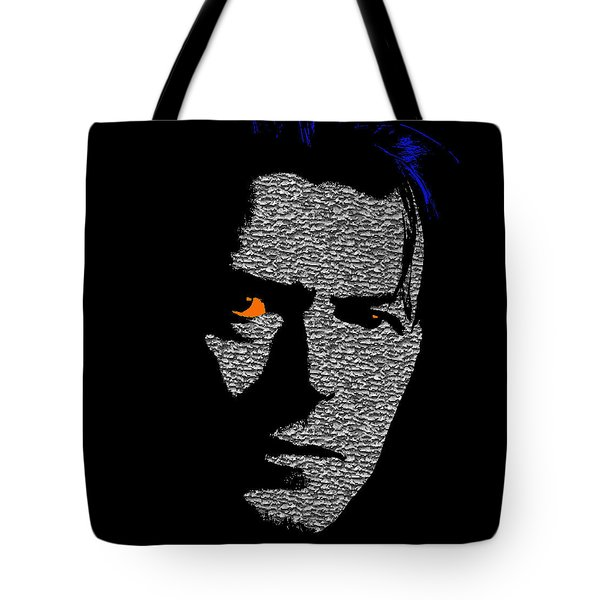 David Bowie 1 Tote Bag by Emme Pons