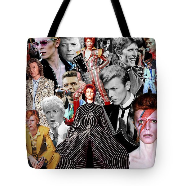 David Bowie 6 Tote Bag