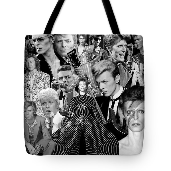 David Bowie 7 Tote Bag