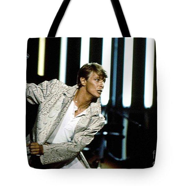 David Bowie Action Man Tote Bag