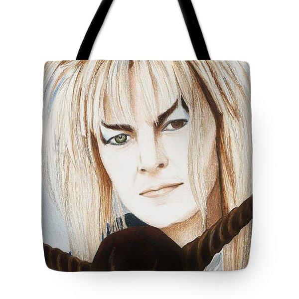 David Bowie As Jareth Tote Bag