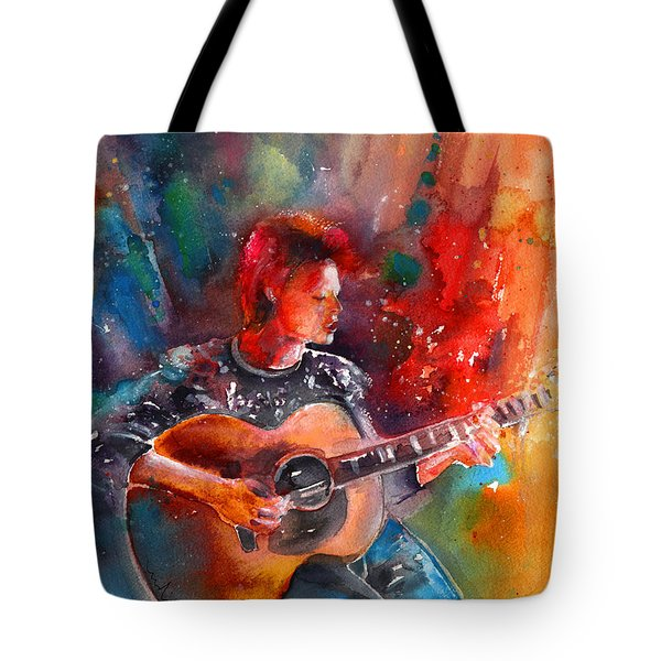 David Bowie In Space Oddity Tote Bag