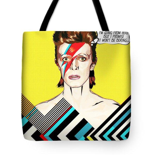 David Bowie Pop Art Tote Bag