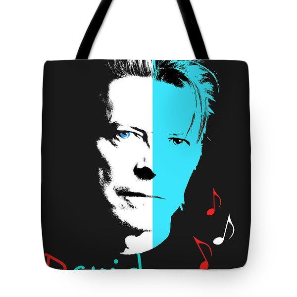 David Bowie Tote Bag