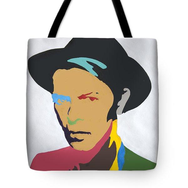 David Bowie Tote Bag by Stormm Bradshaw