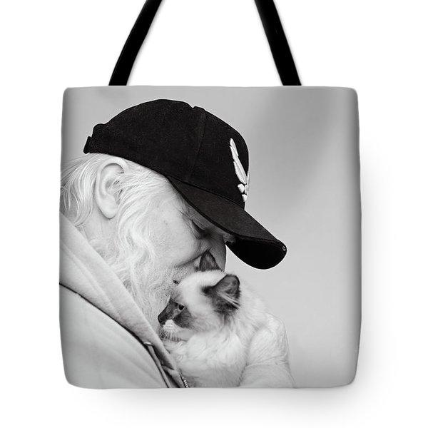 David Bw Tote Bag