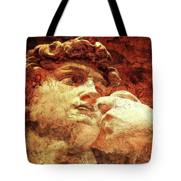 David By Michelangelo Tote Bag