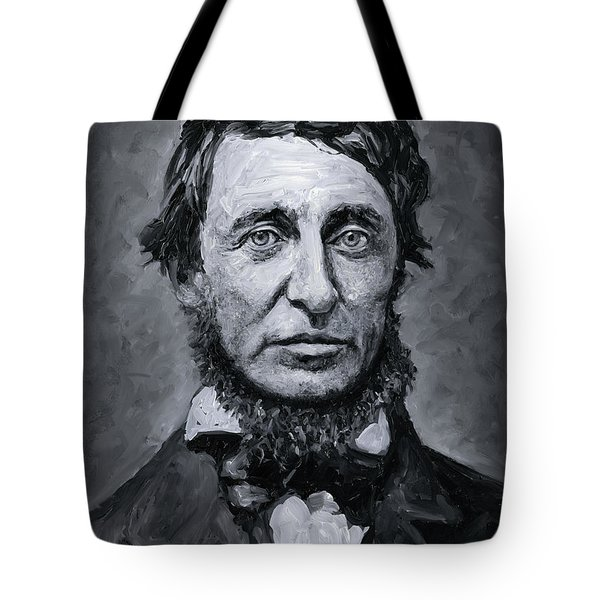David Henry Thoreau Tote Bag