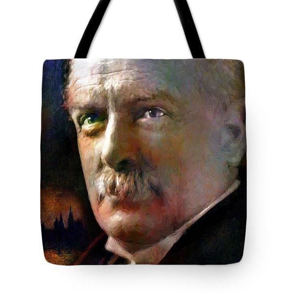 David Lloyd George Tote Bag